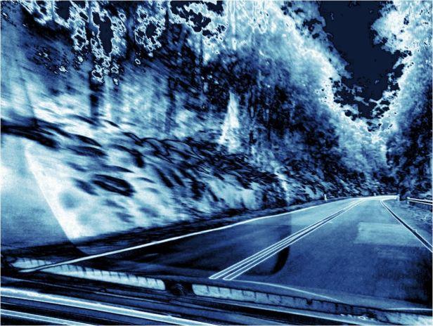 autofahrtblue